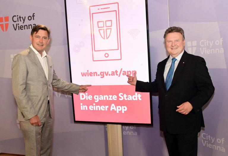 Stadt Wien-App: Relaunch bringt neue Funktionen