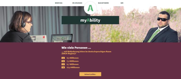 myAbility holt sich sechsstelliges Investment für den digitalen Ausbau