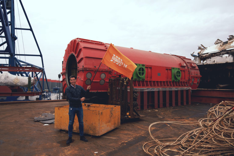 Schrott24 recycelt Teile von umstrittenem Atomkraftwerk