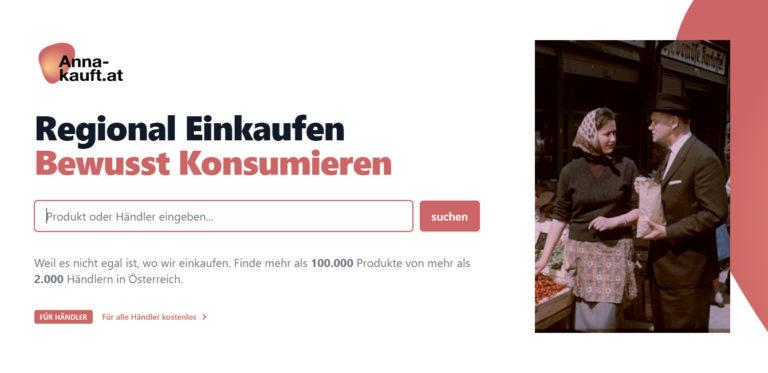 Handelsverband beteiligt sich an regionaler Suchmaschine anna-kauft.at. Nachhaltige Förderung heimischer Webshops als Ziel
