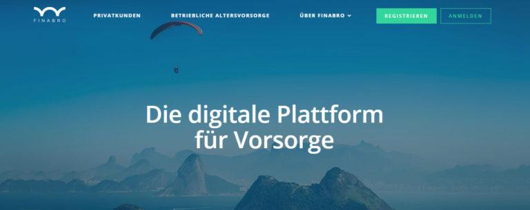Startup FINABRO holt Allianz Österreich als Produktgeber an Bord
