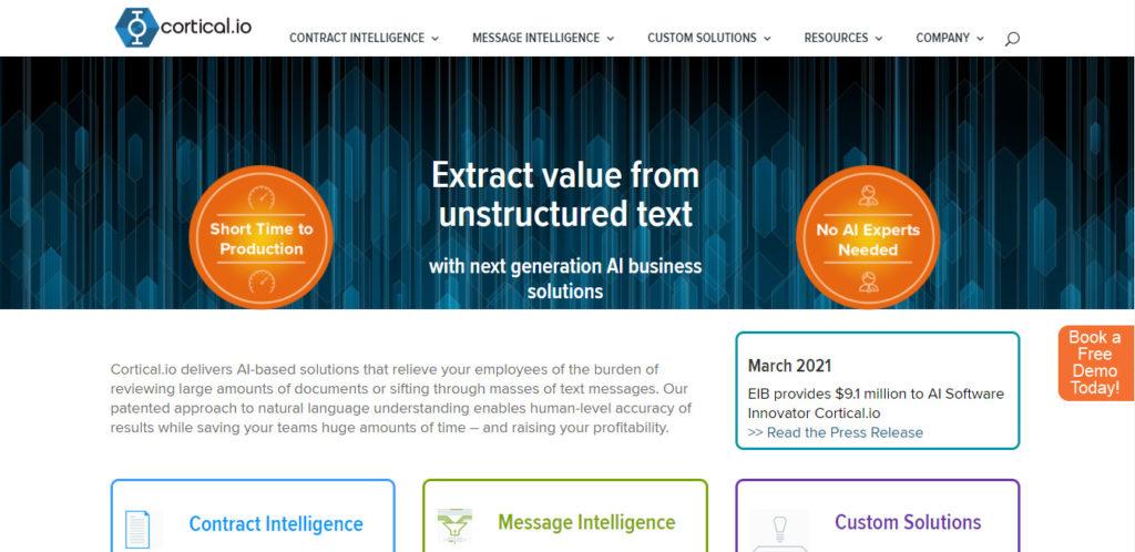 EIB vergibt 7,5 Millionen Euro für KI-basierte Lösungen an österreichischen Softwareinnovator Cortical.io